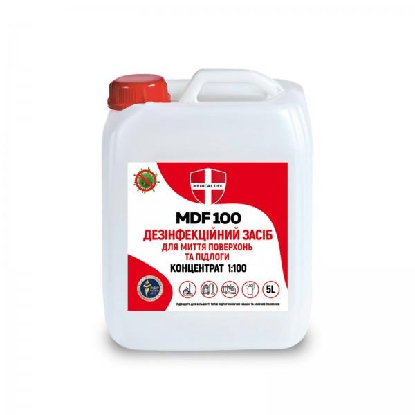 Дезінфекційний засіб для миття підлоги концентрат  MDF 100каністра 5л