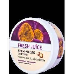 Крем-масло Fresh Juice для тіла Маракуя і Макадамія 225мл