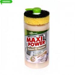 MAXI POWER Миюче для посуду 1л.Бальзам