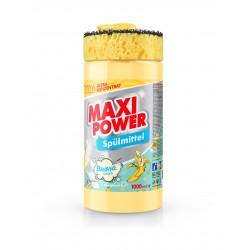 MAXI POWER Миюче для посуди 1л. Банан