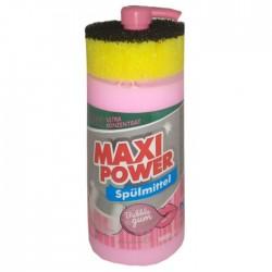 MAXI POWER Миюче для посуду 1л. Buble Gum
