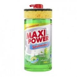 MAXI POWER Миюче для посуду 1л. Лайм