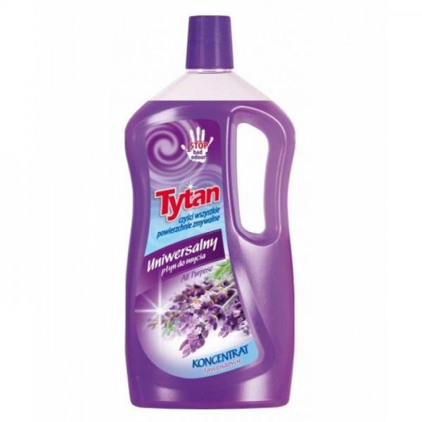Універсальний миючий засіб для підлоги ТИТАН 1л   Лаванда
