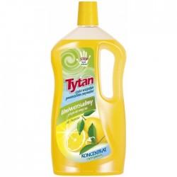 Універсальний миючий засіб для підлоги ТИТАН 1л Лимон